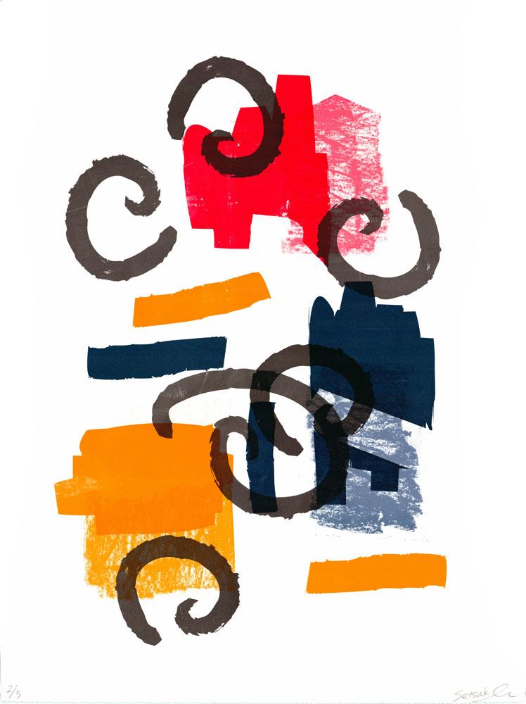 """ORIGINAL"" screen print / ink on paper / 560 x 760 mm / 2017"